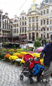 בכיכר המרכזית של בריסל, ה-Grote Markt