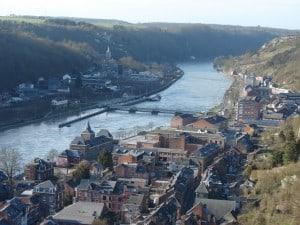נהר ה-Meuse בארדנים הבלגיים