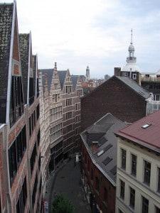רחוב טיפוסי בבלגיה