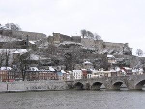 המבצר של נאמור על נהר המז